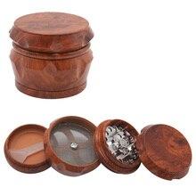 Stone Pattern Plastic Herb Grinder  Wiet 50mm 63mm 4 Layer Big Tobacco Smoke Smoking Crusher Accessories