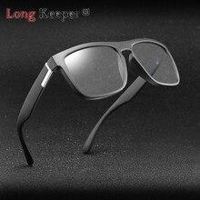 Long Keeper Polarized Photochromic Sunglasses Men Chameleon Glasses Discolor Eyeglasses Driving Goggles Gafas de sol