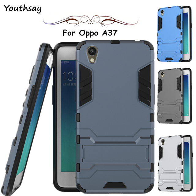 huge selection of 8aa22 eaa73 US $2.68 37% OFF|Youthsay For Case Oppo A37 Case A37M Luxury Silicone  Plastic Robot Cases For Oppo A37 Cover For Fundas Oppo Neo 9 Coque 5.0  inch-in ...