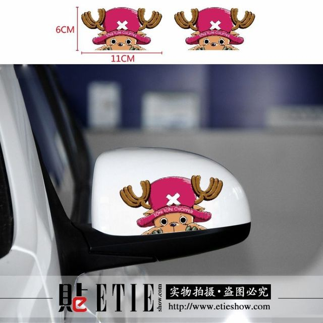 Factory Direct Custom Car Sticker Tony Tony Chopper Window Decals - Custom car window decals stickers