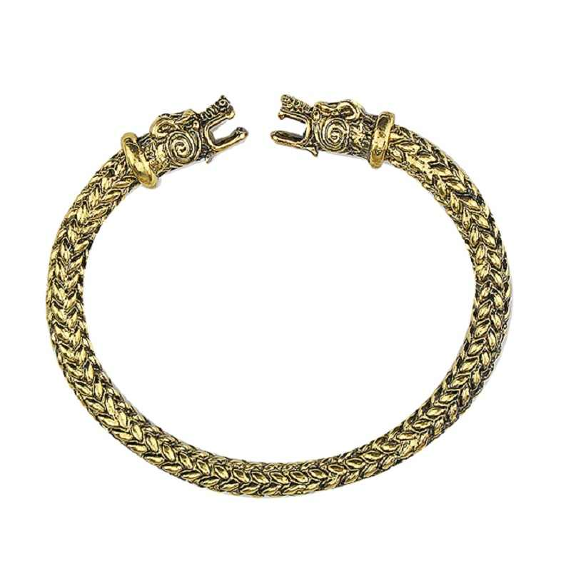 The vikings Wolf Bracelets For Women Fashion Male Accessories Viking Bracelet Men Wristband Cuff Bracelets Bangles Teen Wolf