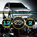 12x Canbus Erro Free Car LED Interior Telhado Dome Mapa Reading iluminação da Chapa de licença Luz Kit Branco/Azul para W163 ML ML350 2000-2005 #94