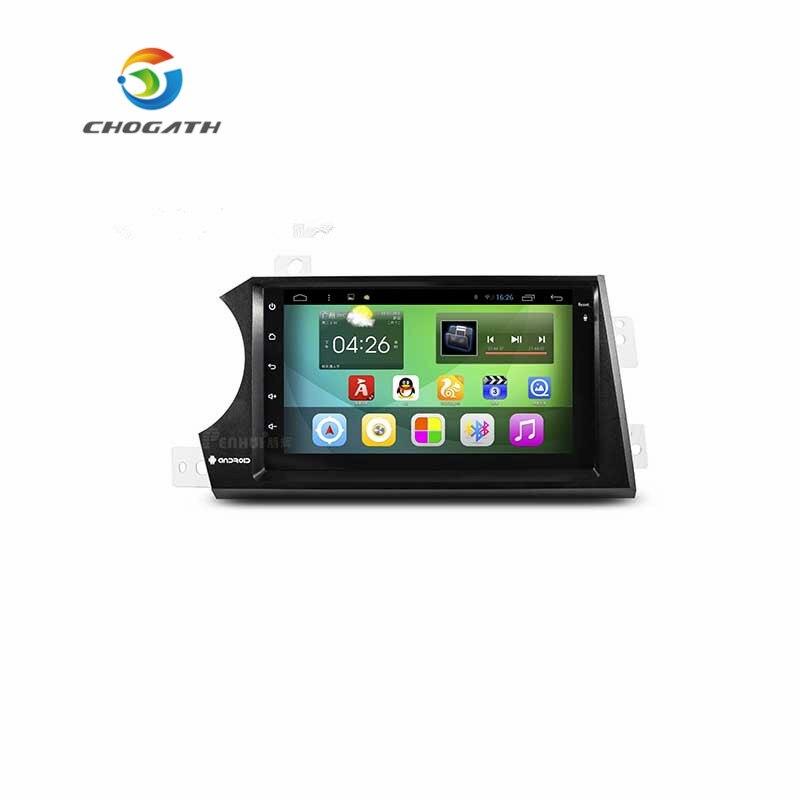 CHOGATH 7 pouces Quad Core Android 8.0 Navigation GPS pour Ssangyong Kyron 2006 2007 2008 2009 2010 2011 avec SWC, Wifi, cartes