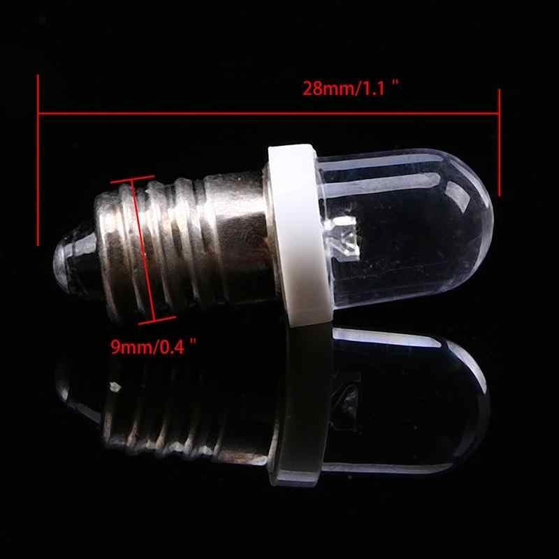 E10 lâmpadas dc 6/12/24 v led parafuso base indicador lâmpada mini aviso automóvel instrumento lâmpada largura sinal