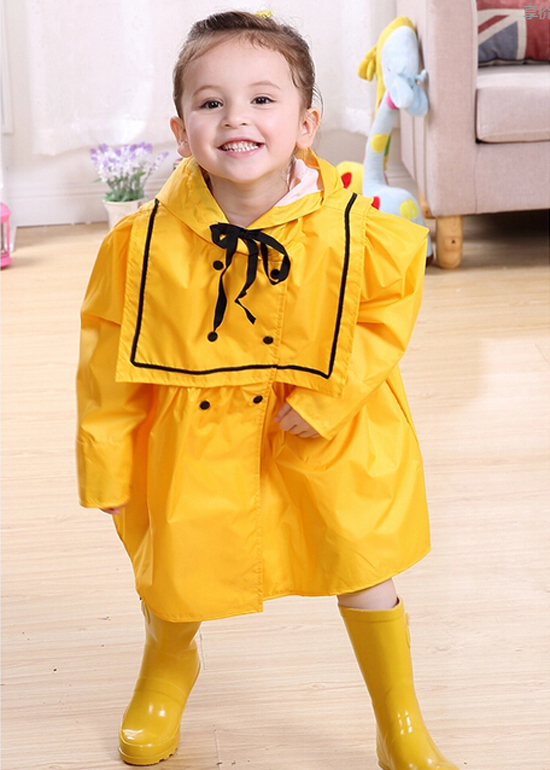 Riancoat for Children Girls Cape Lovely Princess Raincoat Cute Waterproof Kids Long Poncho waterproof raincoat kids children boys long cute poncho lluvia mujer girls raincoat impermeable backpack rain cover ddg48y