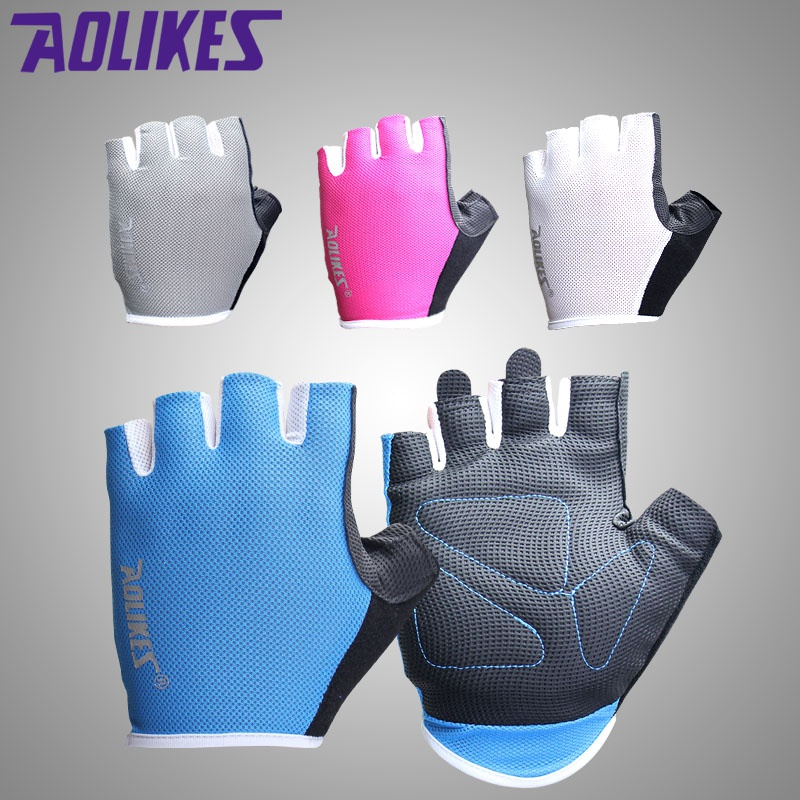 New Sports Exercise Training Fitness Weight Lifting Gym: 2017 New Women/Men Training Gym Gloves Body Building Sport