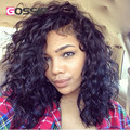 8A Unprocessed Malaysian Lace Front Wig Glueless Short Curly Full Lace Human Hair Wigs Natural Wave Short Curly Lace Front Wigs