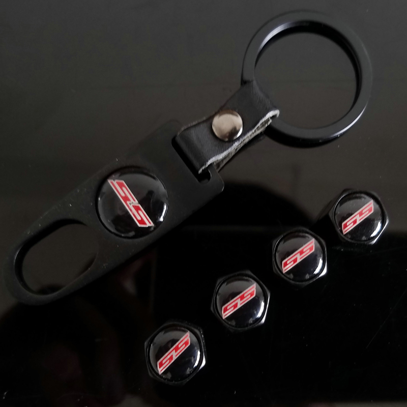 Ключи металлическое кольцо колеса шины Колпачки клапанов автомобильные аксессуары для Chevrolet Camaro Silverado оникс Prisma Holden Commodore Cruze