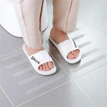5Pcs Anti Slip Bath Grip Stickers Non Shower Strips Floor Safety Tape bathroom stickers room decoration