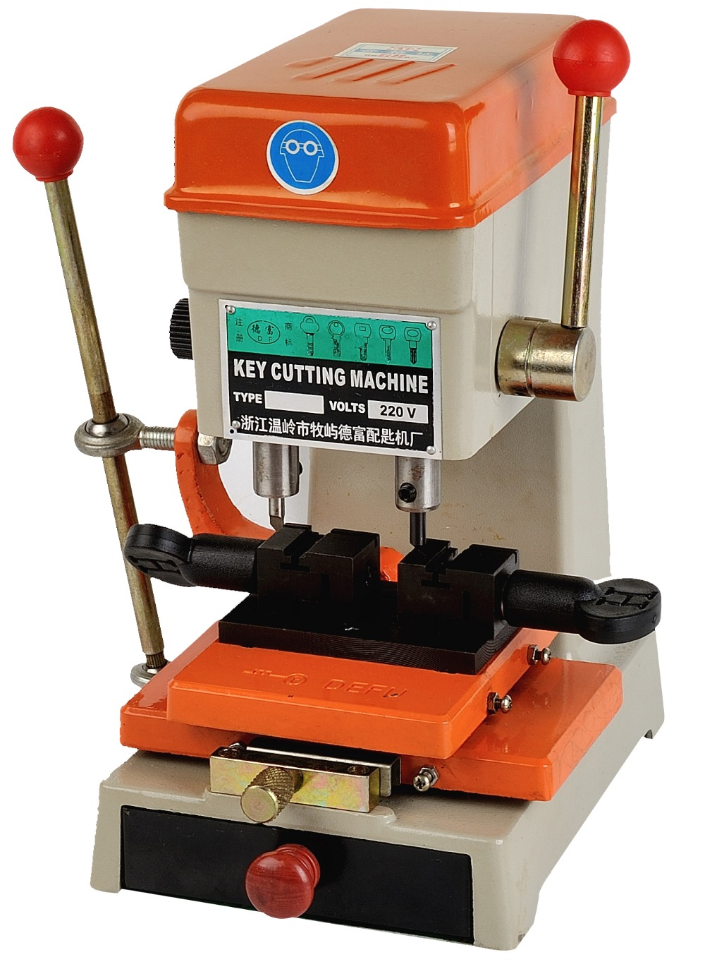 368A Key Cutting Machine Car Door Key Cutting Copy Duplicating Machine Lock Pick Set Locksmith Tools