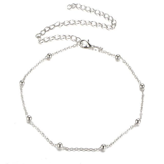 Фото простое колье ошейник цепочка ожерелье для женщин золотой серебристый