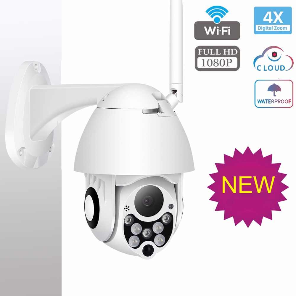 1080p Ip Camera Wifi Outdoor Ptz Speed Dome Zoom Ir Network Cctv Camera Wireless Security Surveillance Camara Exterior Ipcam Cam Surveillance Cameras Aliexpress