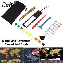 8 шт./пакет DIY царапины Ручка Комплект скретч-карта набор инструментов для скретч-карта Карты аксессуары маркеры наклейки