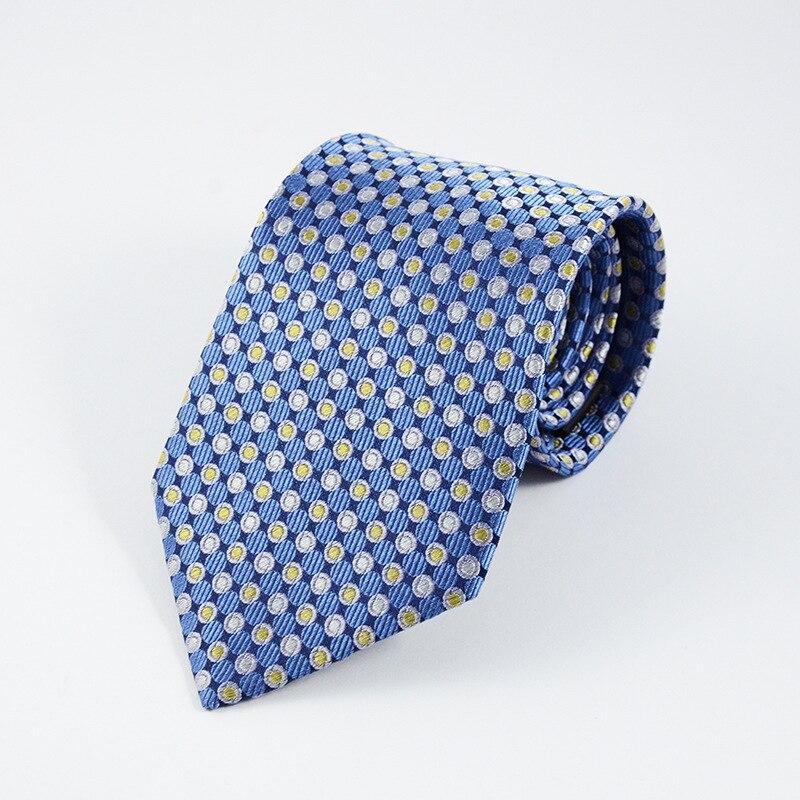 2017 Classique 100% Soie Hommes Cravates Nouvelle Conception Cravates 8 cm Cravates pour Hommes D'affaires Formelle De Mariage Partie