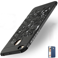 5 0 Case For Xiaomi Redmi 4x Case Anti Knock Armor 3D Relief Painting Soft