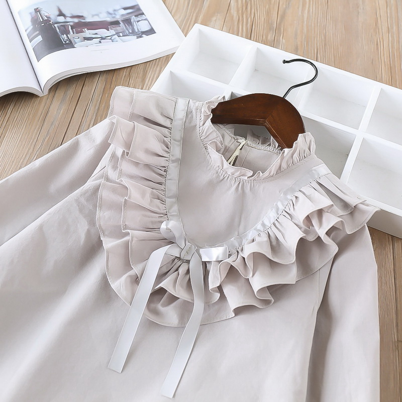 45-2-baby girl ruffles Solid blouses