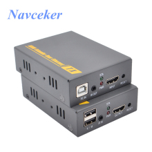 ZY-DT103KM HD USB HDMI KVM Over IP Extender 20~60 KHz IR RJ45 CAT5 CAT6 By UTP 500ft Extensor IP/TCP
