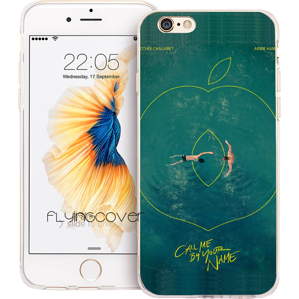 Call Me by Your Name Swim Phone Cases for iPhone 10 X 7 8 6 6S Plus 5S 5 SE 5C 4S 4 iPod Touch 6 5 Clear Soft Silicone Cover.