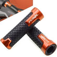 Резиновые ручки для мотоцикла KTM 390 DUKE DUKE390 2013 2014 2015 2016 2017 2018 7/8 CNC, концевые гелевые ручки