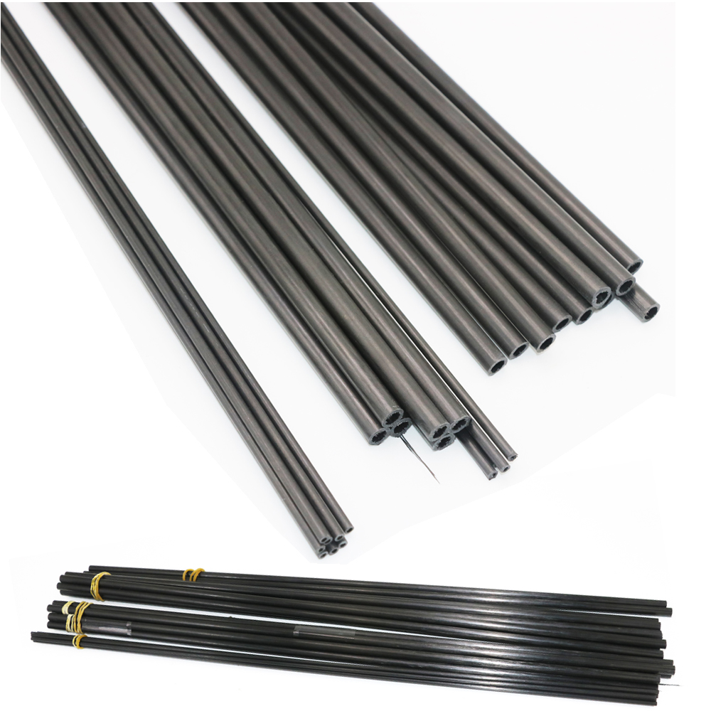 16pcs/lot New Carbon Fiber Tube 3K  for Quadcopter Multicoptor 3mm / 4mm / 5mm / 6MM / 7MM / 8MM /10MM  (0.5meter/pcs) Wholesale-in Parts & Accessories from Toys & Hobbies