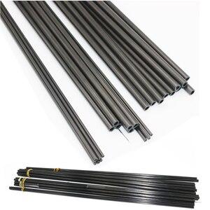 Image 1 - 16pcs/lot New Carbon Fiber Tube 3K  for Quadcopter Multicoptor 3mm / 4mm / 5mm / 6MM / 7MM / 8MM /10MM  (0.5meter/pcs) Wholesale
