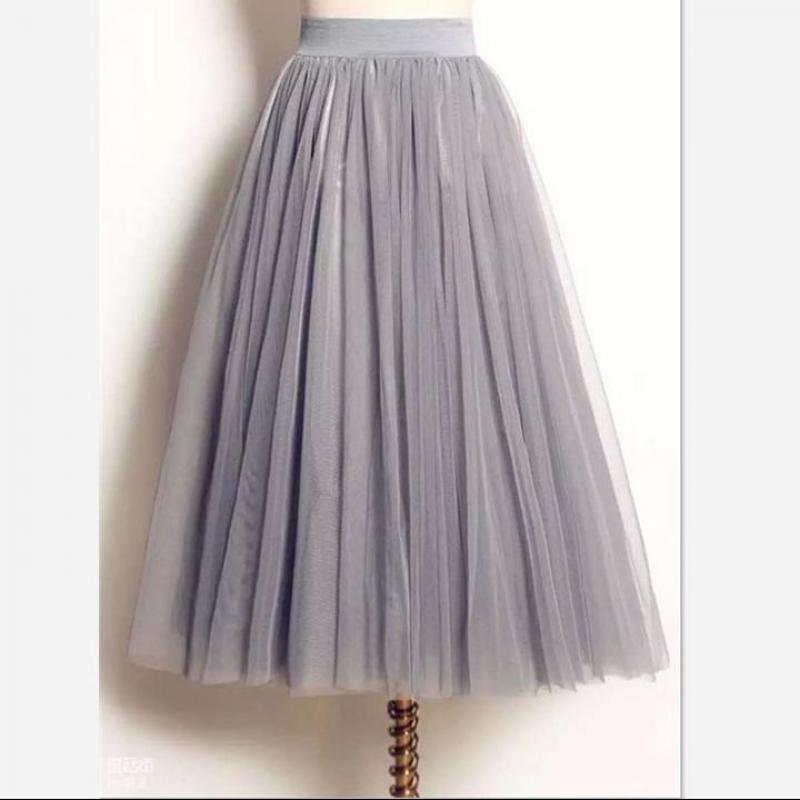 Maxi skirt free shipping-4099