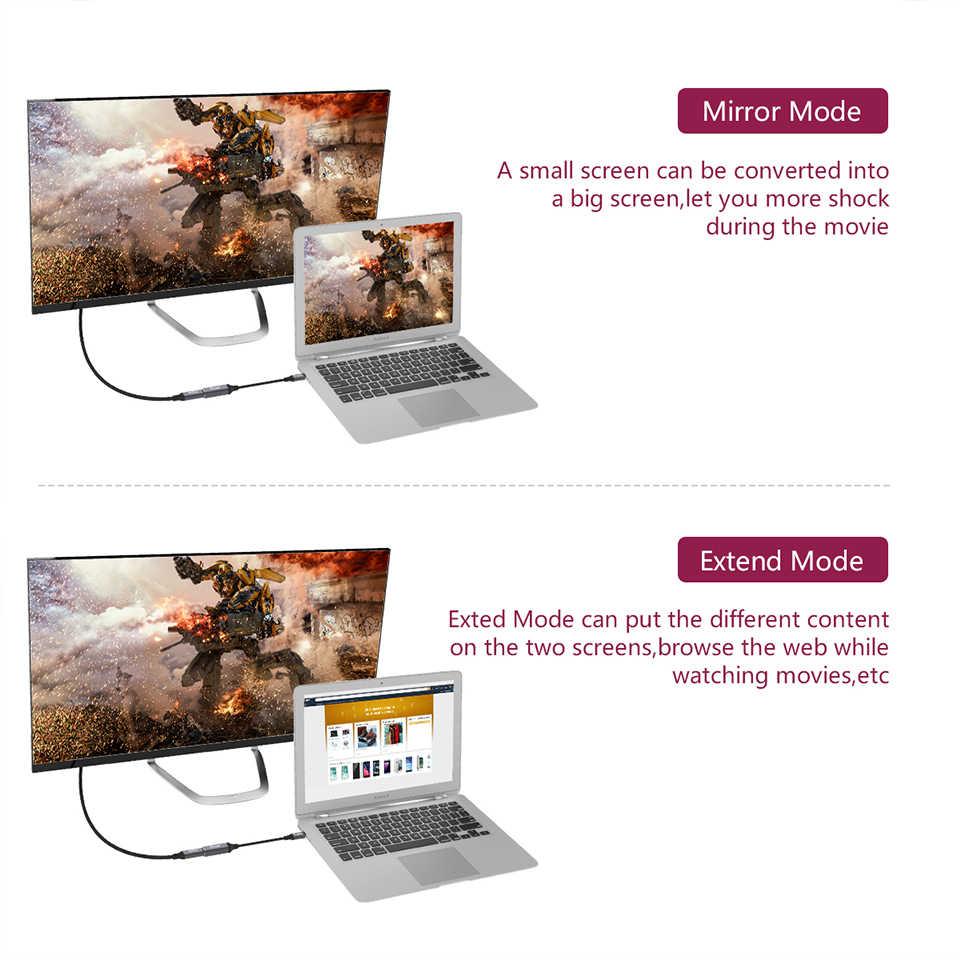 Qgeem usbタイプc 3.1 ミニdpメスケーブルアダプタ 4 18k 60 60hzハイビジョンusb cミニdpコンバータmacbook huawei社メイト 10 サムスンS8