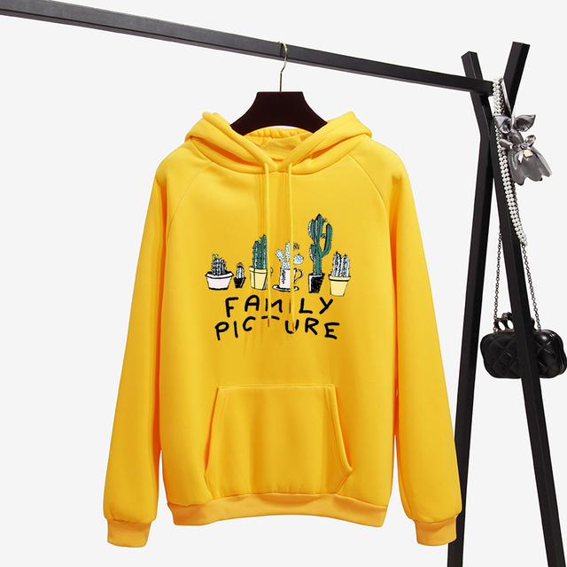Cactus Women Winter Sweatshirt