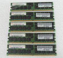 original 1 PCS  DDR2 ECC ERG 2G 2R*4 PC2-5300P 41Y2764 selling with good quality