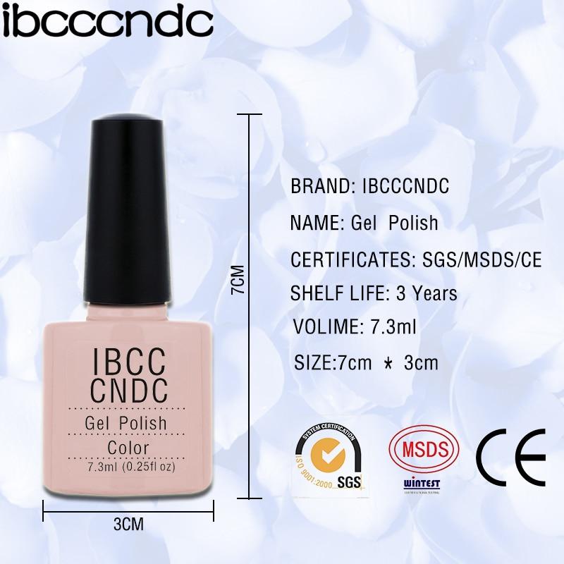 IBCCCNDC 7.3ml rəngli dırnaq - Dırnaq sənəti - Fotoqrafiya 3