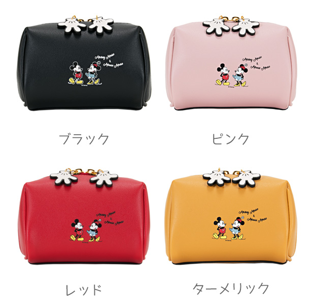 Cartoon Cute Genuine Mickey Minnie Girls Cosmetic Bag Limited Edition Woman Storage Makeup Organizer
