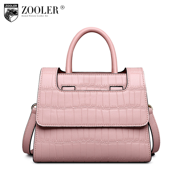 Zooler 2017 Woman Bag Famous Brand Genuine Leather Bags Luxury Handbags Whole Cowhide Designer Fashion Stylish