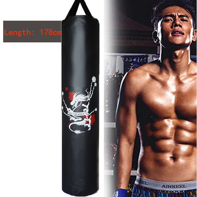 85 120 160 178cm Sandbag Empty Punching Bag Kick Boxing Bag Indoor Sports Earthbags Training Muai
