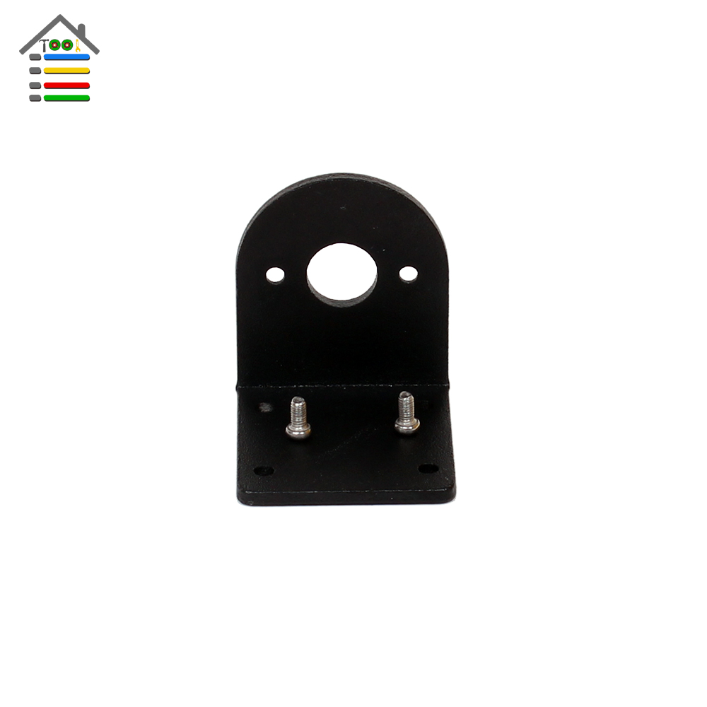 Black Metal Holder Stand Bracket Mount for Hand Drill PCB Woodworking Drilling DIY Tool fit 550 545 555 series Motor autotoolhome mini dc 12v electric motor for wood pcb hand drill press drilling 0 5 3mm twist bits and jto chucks bracket stand