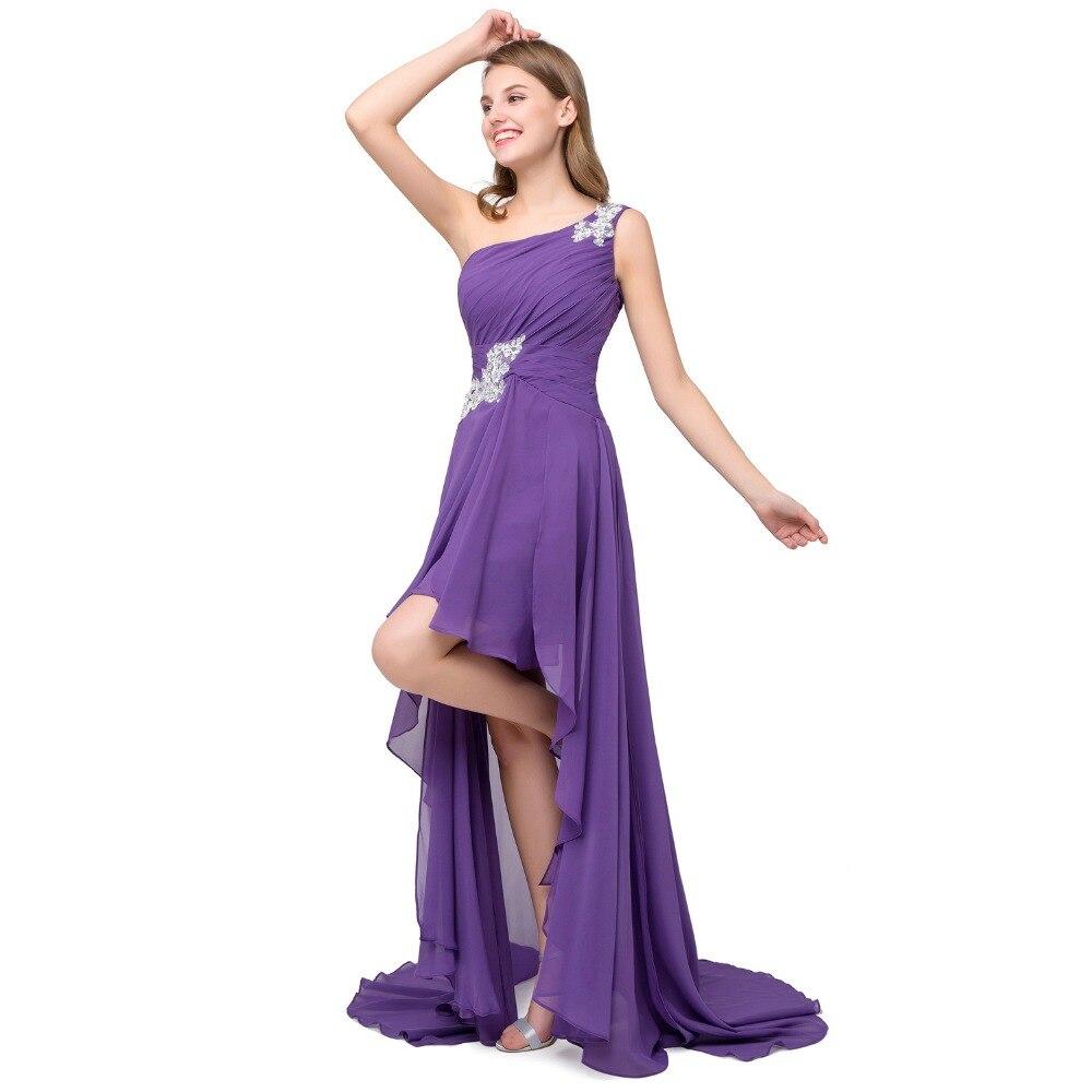 ANGELSBRIDEP CharmingOne Shoulder Bridesmaid Dresses Party Gowns ...