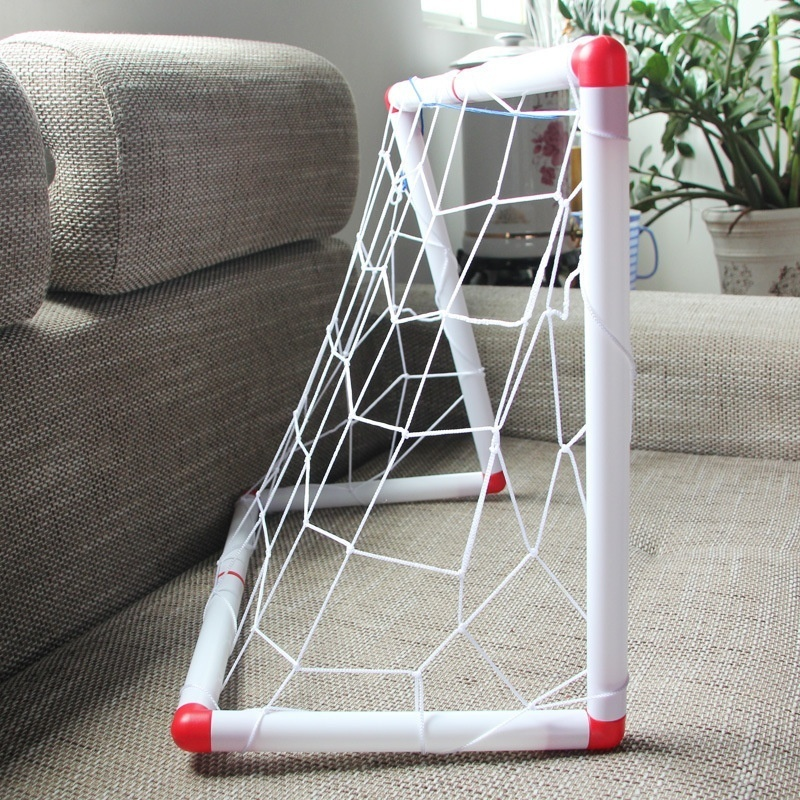 Outdoor Soccer Game Sport Toy Family Game Boy Children Plastic Football Goal Sets &T8 image