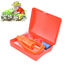 1Pc Outdoor Camping Survivor Venom Extractor Kit Safe First Aid Kit Safety Venom Protector Snake bees Bite Venom Extractor(China)