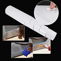 Car Door Edge Clear Protective Satin Finish Vinyl Wrap Guard Film Sheet 20x200cm