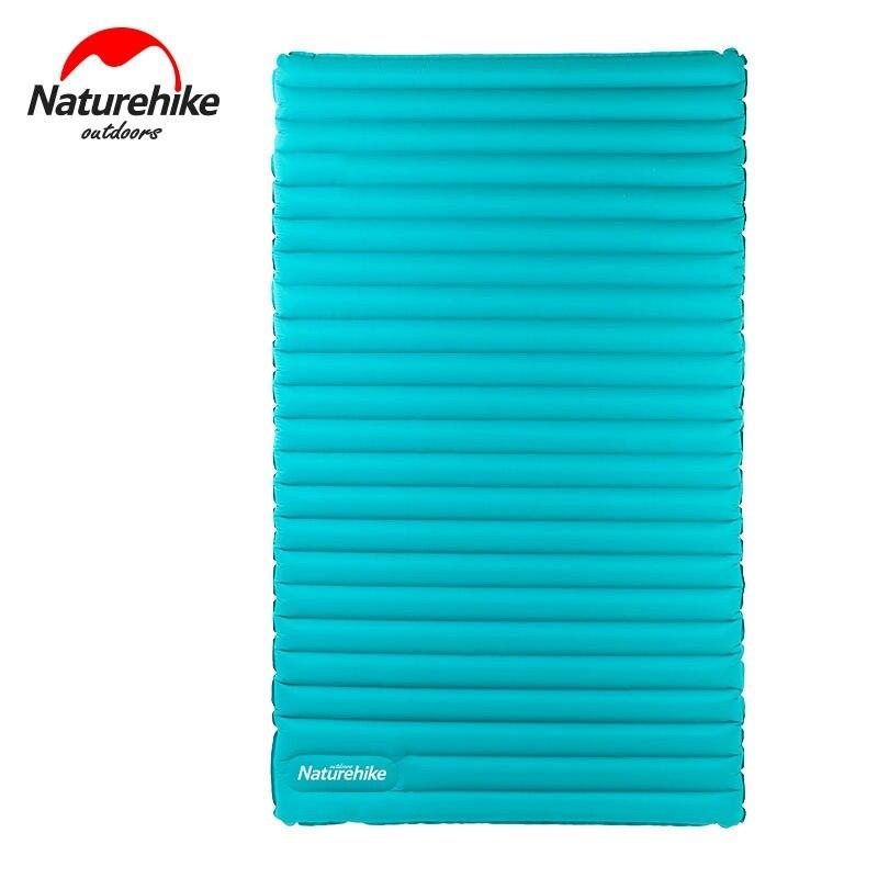 Naturehike руководство надувной Коврики для 2 ~ 3 человек 200x120/140x9.5 см большой Размеры кемпинг пикник Коврики S nh17t120-u
