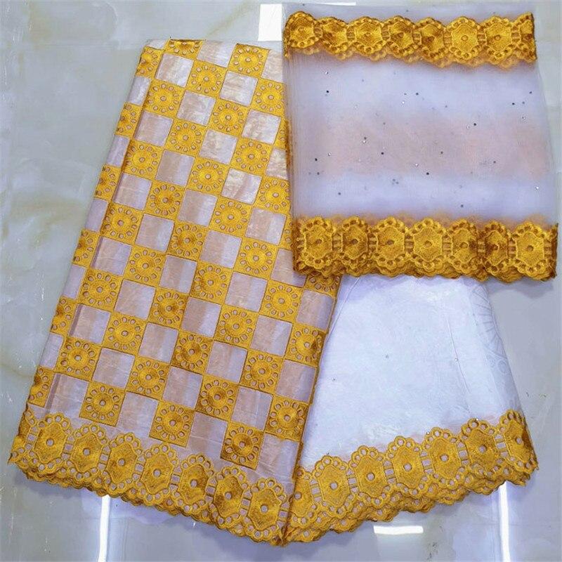 white bazin riche getzner african fabric tissu dentelle strass perle guinea brocade fabric basin riche fabric 7yard/lot LYB -in Fabric Decorating from Home & Garden    1