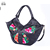Senhoras bolsa 2017 tendência da moda verão bordado grandes bolsas hobos ombro cross-corpo sacos mulheres mensageiro do vintage das mulheres