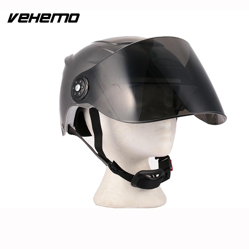 Half Duplex Universal Durable Motorcycle Helmet Crashworthy Outdoor Sports Hats Safety Hat Cycling Riding