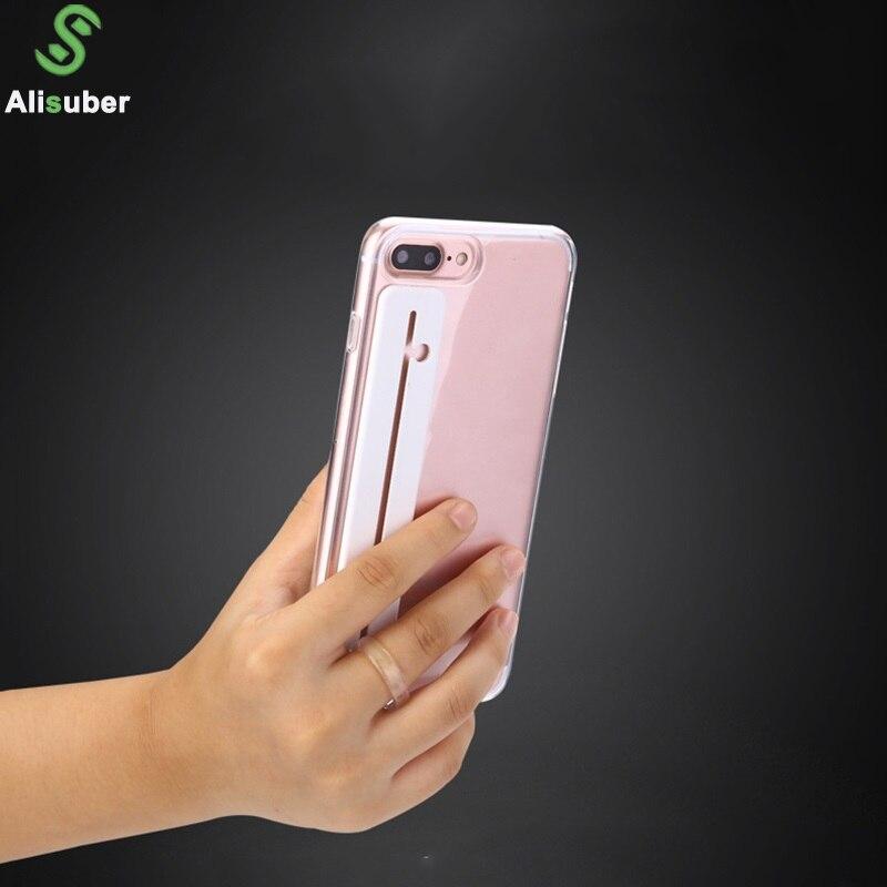 Alisuber 2018 Newest Finger Ring Holder PC Slide Ring Holder Car Phone Holder Support Smartphone Voiture 2 Rings Stand Holder smartphone