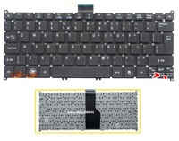 SSEA New US Keyboard For Acer Aspire S3 S3-391 S3-951 S3-371 S5 S5-391 725 756 laptop keyboard no frame