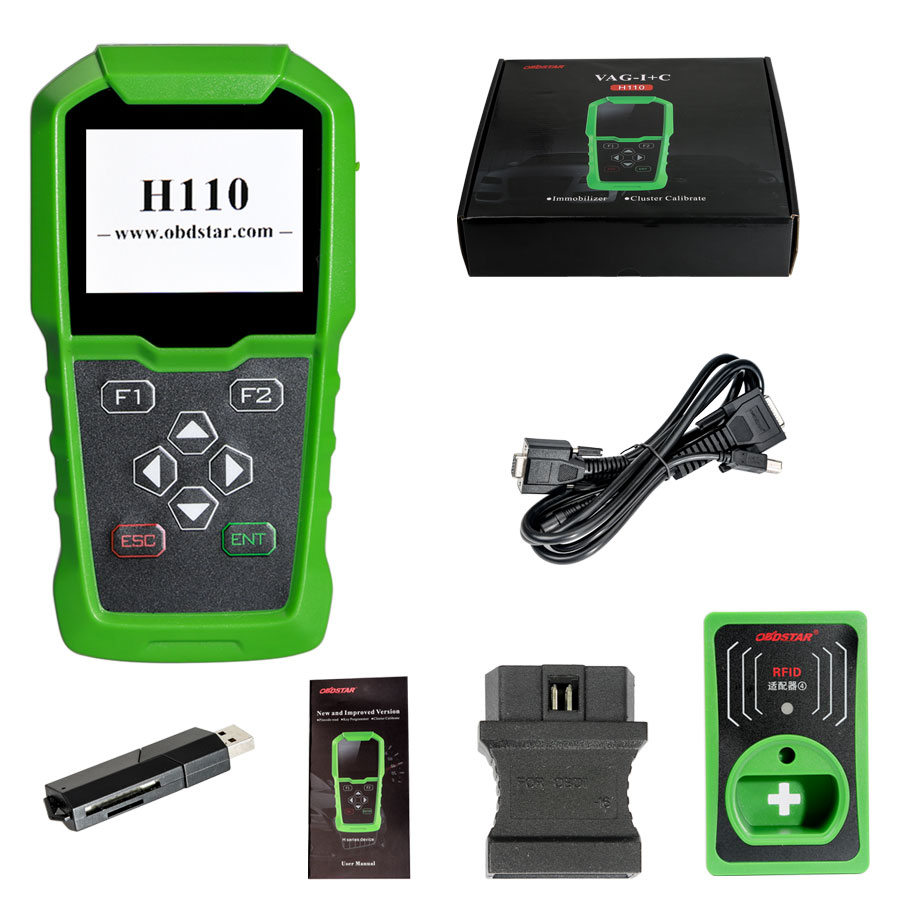 OBDSTAR H110 VAG I+C for MQB VAG IMMO+KM Tool Support NEC+24C64 and VAG 4th 5th