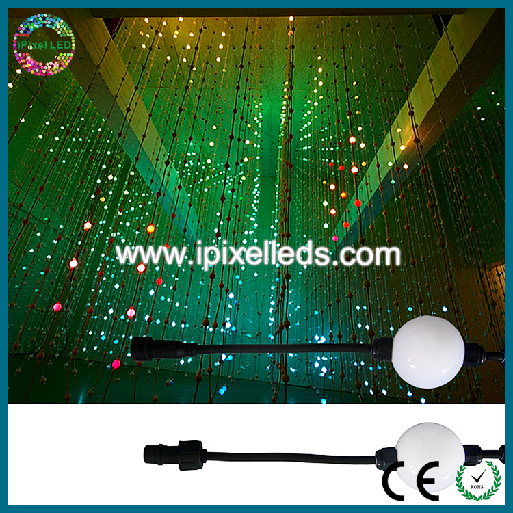 plastic rechargeable outdoor rotating led moon light ball