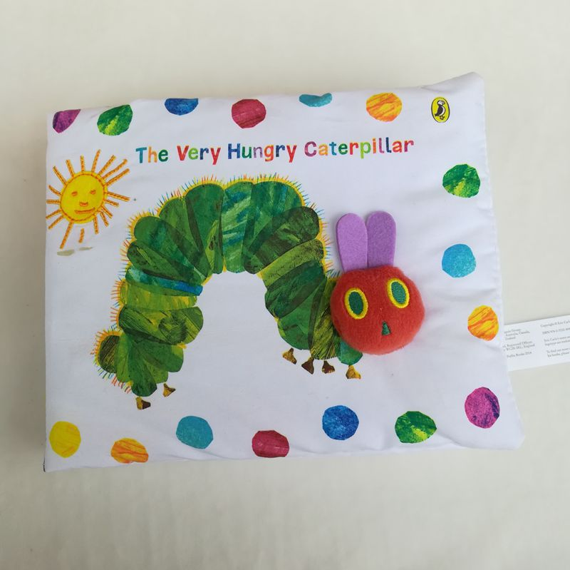 Stereoscopic Multi-function Cloth Books Very Hungry Caterpillar Infant Readings BT051 the very hungry caterpillar a pull out pop up