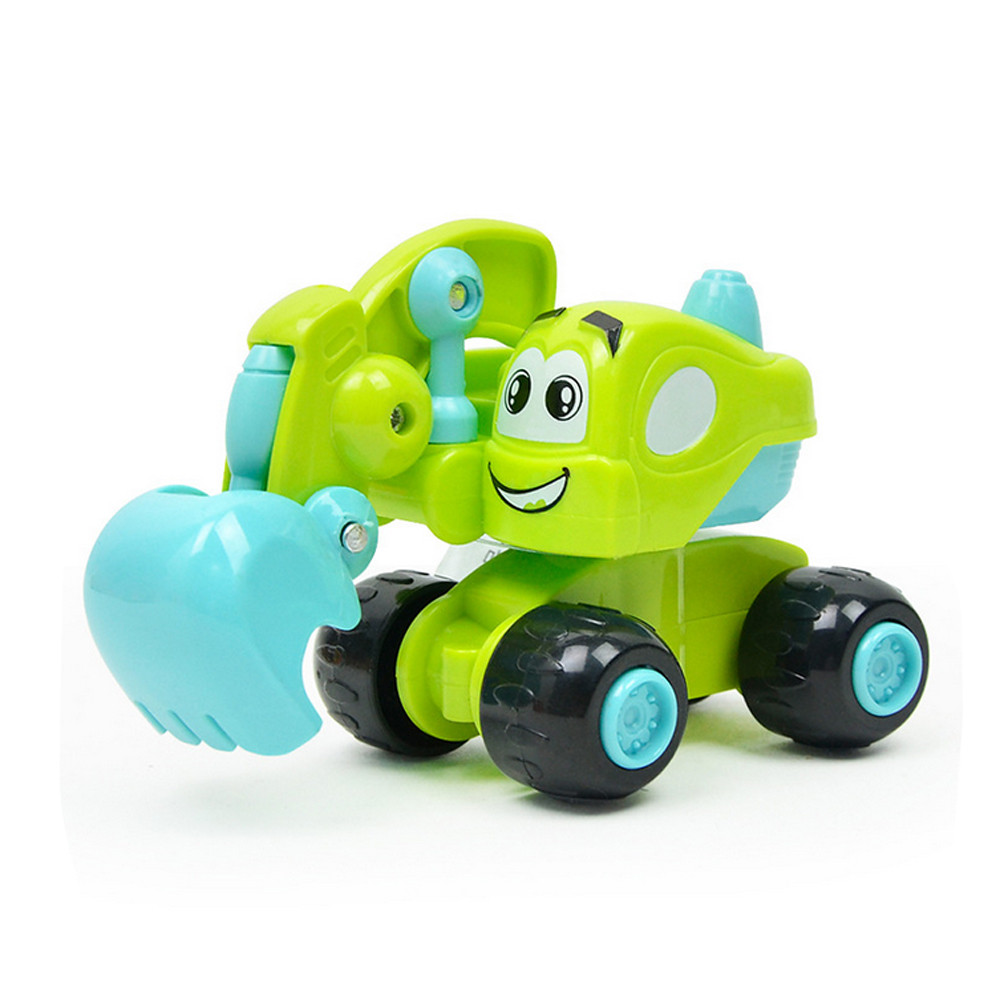 Remote Control Car Toy Baby Kids Cute Twist Forward Movement Clockwork Spring Engineering Car Toy Gift18Feb27