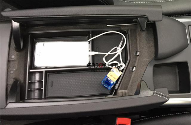 Caixa Organizador Recipiente Palete de Armazenamento do Console Apoio de Braço Central Para Mercedes Classe ML Benz W166 ML350 ML500 ML550 ML63