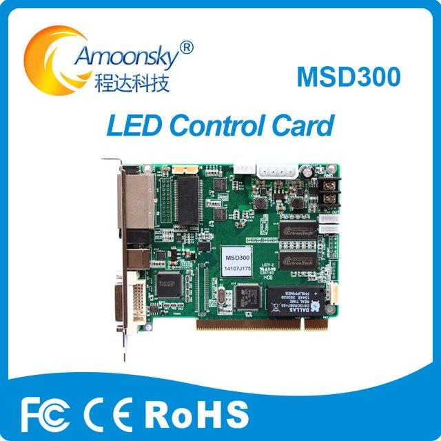 hq led display professional led controller card novastar msd300 led sending card nova adapt to nova vx4 vx4s novapro hd player
